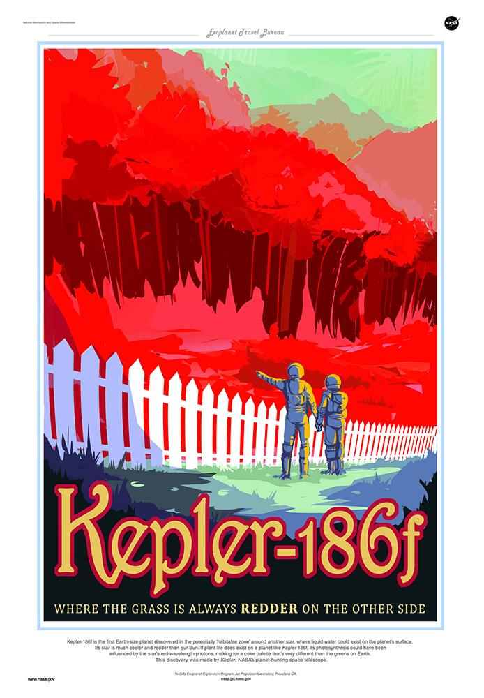 exoplanet Kepler-186f NASA