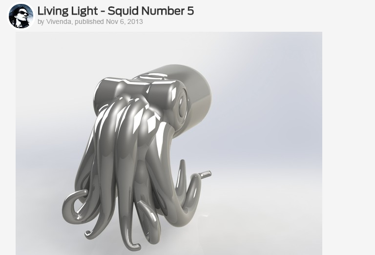 Picture Wednesday: Squid in the dark | Day 165