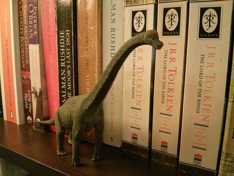 Theo the Brachiosaurus | Day 171