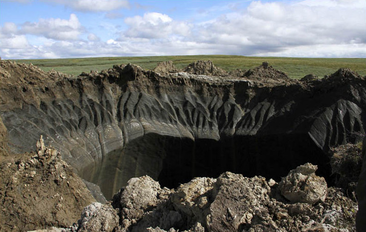 siberia hole in yamal
