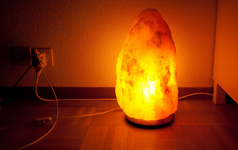 The pretty pseudoscience of salt lamps