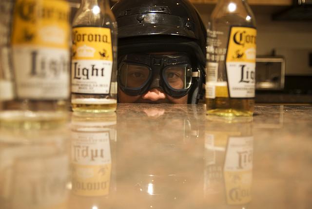 beer goggles preparation helmet