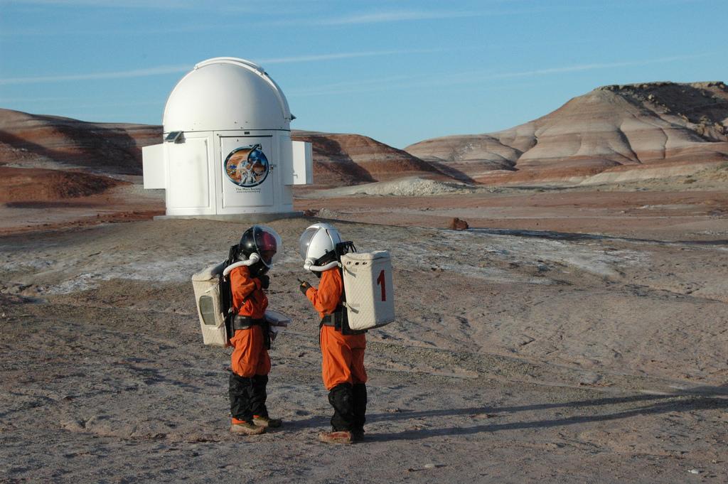 Mars on Earth, fire on Mars | Day 182