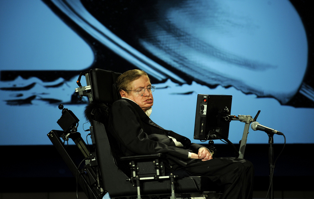 In the presence of Hawking | Day 253